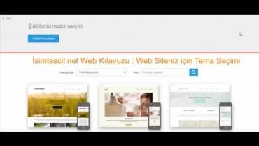 Web Kılavuzu  Tema Seçme